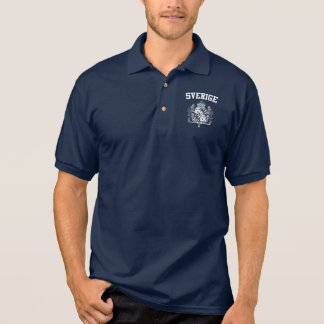 Sweden Coat of Arms Polo Shirt