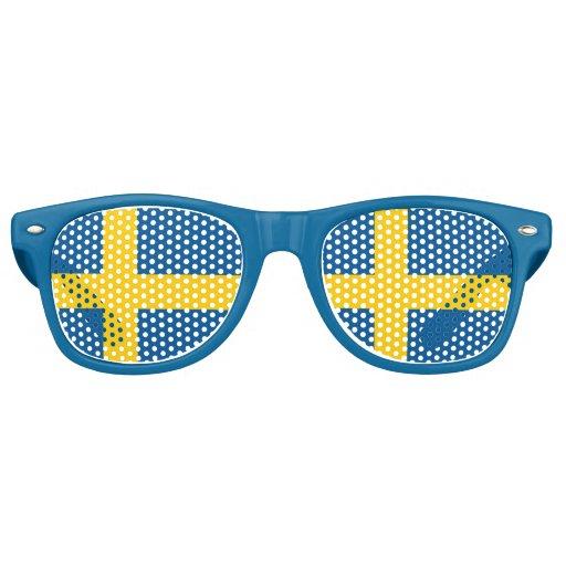 sweden colorful fun shades zazzle