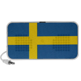 sweden country flag doodle speakers