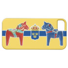 Sweden Dala Coat of Arms iPhone SE/5/5s Case
