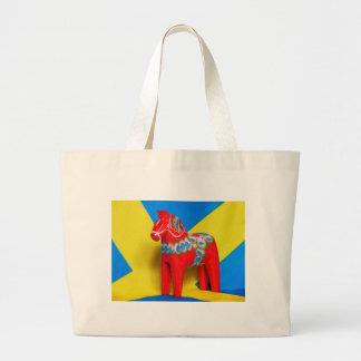 Sweden Dala Horse Canvas Bags