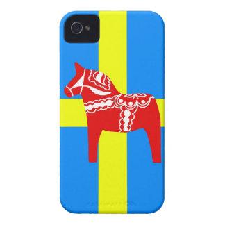 Sweden Dala Horse iPhone 4 Case