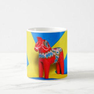 Sweden Dala Horse Coffee Mug