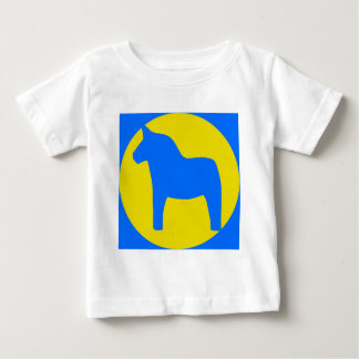 Sweden Dala Horse Infant T-shirt