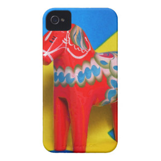 Sweden Dala Horse iPhone 4 Cases