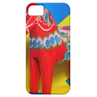 Sweden Dala Horse iPhone 5 Cases
