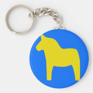 Sweden Dala Horse Keychains