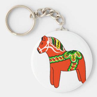 Sweden Dala Horse Key Chains
