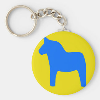 Sweden Dala Horse Key Chain