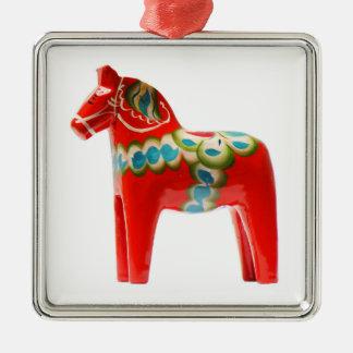 Sweden Dala Horse Metal Ornament
