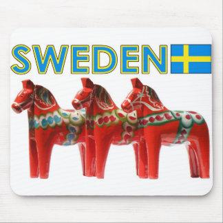 Sweden Dala Horse Mousepads