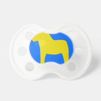 Sweden Dala Horse Pacifiers