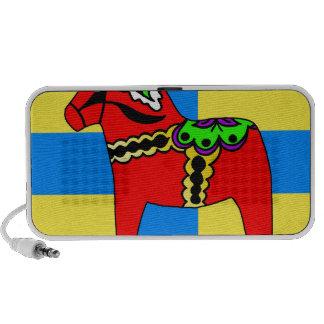 Sweden Dala Horse iPod Speaker