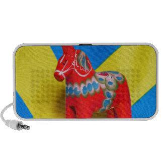Sweden Dala Horse Mini Speakers