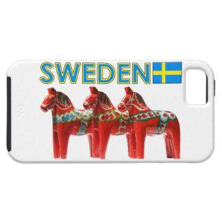 Sweden Dala Horses iPhone 5 Case