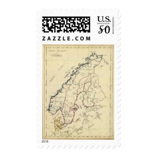 Sweden, Denmark, Norway 2 Postage