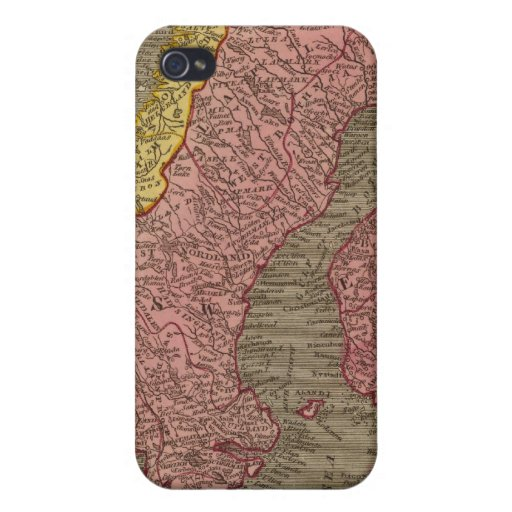Sweden, Denmark, Norway Cover For iPhone 4