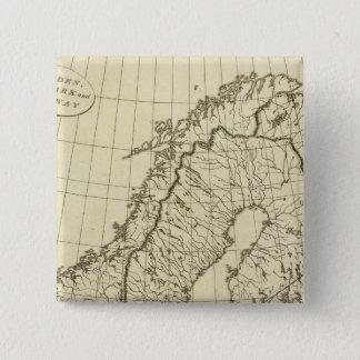 Sweden, Denmark, Norway outline Button