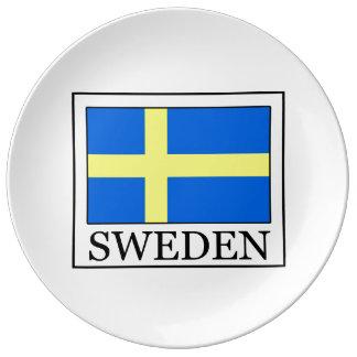 Sweden Dinner Plate