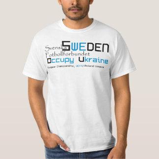 Sweden EURO football T-Shirt