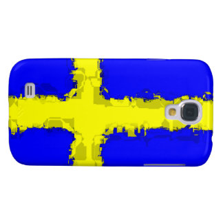 SWEDEN FLAG 3 SAMSUNG S4 CASE