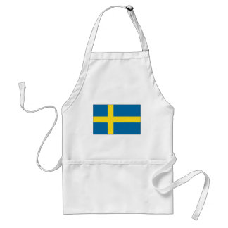 Sweden Flag Adult Apron