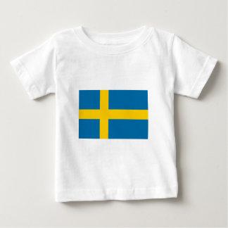 Sweden Flag Baby T-Shirt