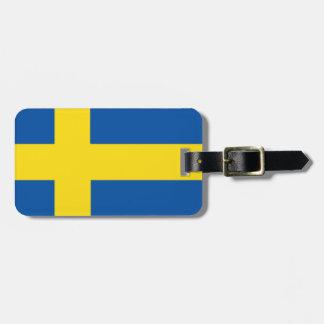 Sweden Flag Bag Tags