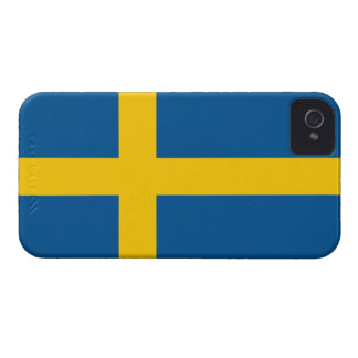 Sweden Flag Barely There™ iPhone 4 Case