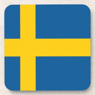 Sweden Flag Beverage Coaster