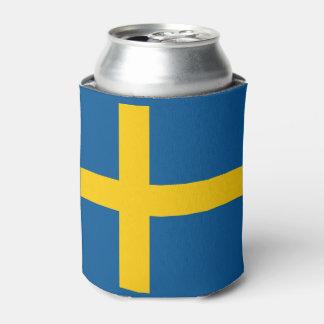 Sweden Flag Can Cooler