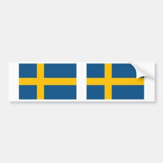 Sweden Flag Car Bumper Sticker