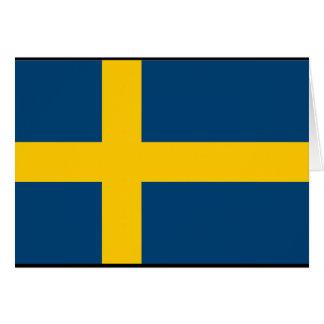 Sweden Flag Greeting Cards