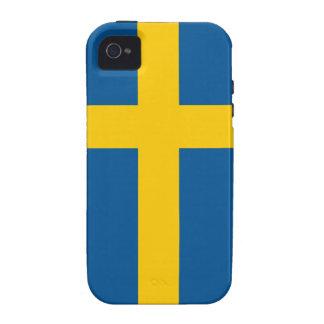 Sweden Flag iPhone 4/4S Case