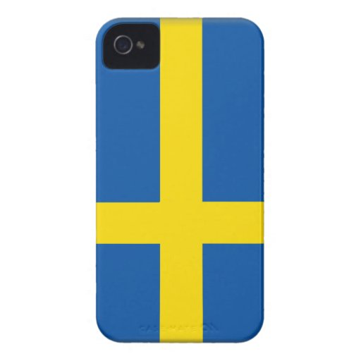 Sweden Flag iPhone 4 Covers