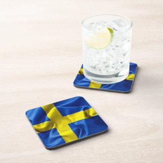 Sweden Flag Coaster