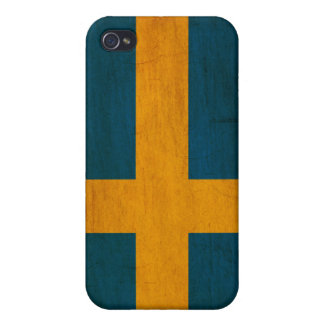 Sweden Flag Cover For iPhone 4
