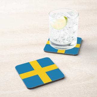 Sweden Flag Drink Coaster