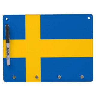 sweden flag Dry-Erase whiteboard