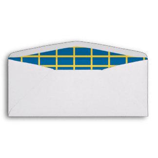 Sweden Flag Envelopes