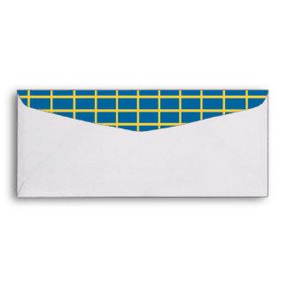 Sweden Flag Envelope