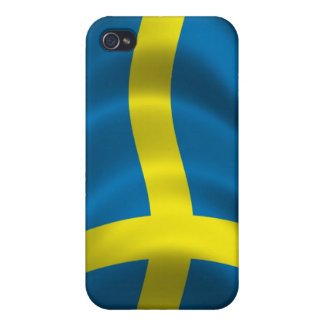 Sweden Flag for iPhone 4 Cases For iPhone 4