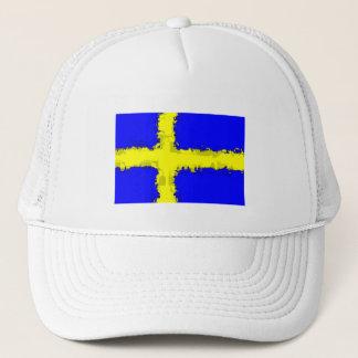 SWEDEN FLAG Hat