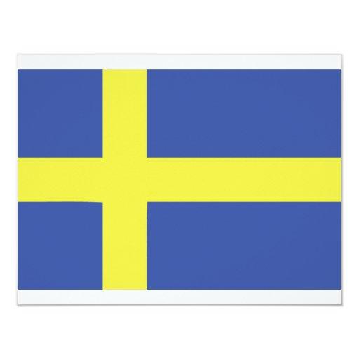 sweden flag icon card