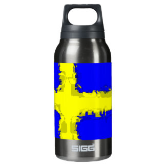 SWEDEN FLAG INSULATED WATER BOTTLE