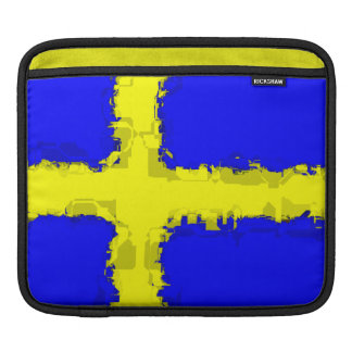 SWEDEN FLAG iPad Sleeve