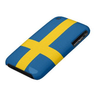 Sweden Flag iPhone 3 Case-Mate Cases