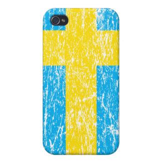 Sweden Flag iPhone 4 Cases