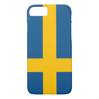 Sweden Flag iPhone 7 case (high quality)