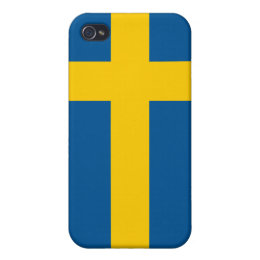 Sweden Flag iPhone iPhone 4/4S Case